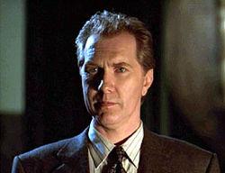 Mayor Richard Wilkins III (also Mayor Richard Wilkins I and II) from Season 3 of BUFFY THE VAMPIRE SLAYER.