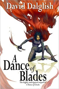 A Dance of Blades Book Cover