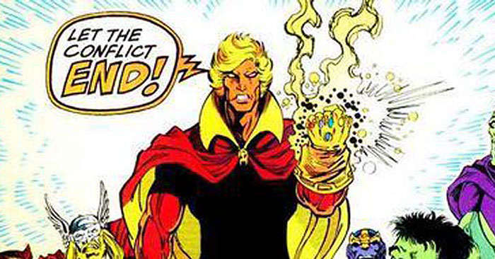 Adam Warlock Him Peter Quill Star-Lord