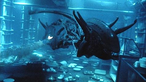 Xenomorphs underwater