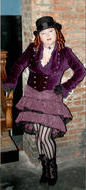 Steampunk archetype costume - Dandy or Femme Fatale