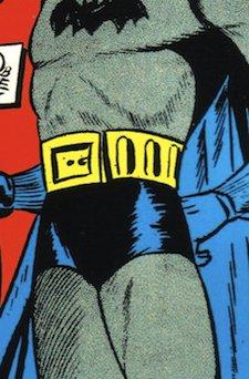 Batman's trunks