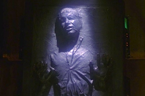 Empire Strikes Back Star Wars Han Solo Carbonite