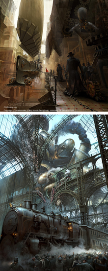 CGSociety Steampunk Myths and Legends