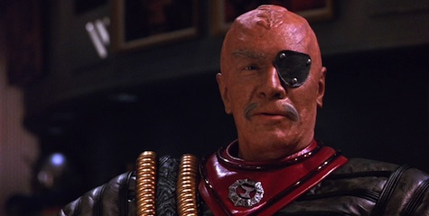 8 Essential Eyepatches in Science Fiction Klingon Star Trek VI The Undiscovered Country