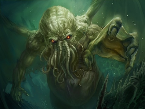 Cthulhu Rising by somniturne on deviantART