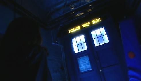 Doctor Who TARDIS School Reunion Sarah Jane Smith