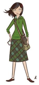 Lois Lane Girl Reporter by Dean Trippe