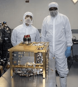 the SAM instrument suit, prior to installation—NASA/JPL