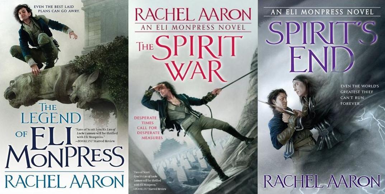 Rachel Aaron Eli Monpress saga covers