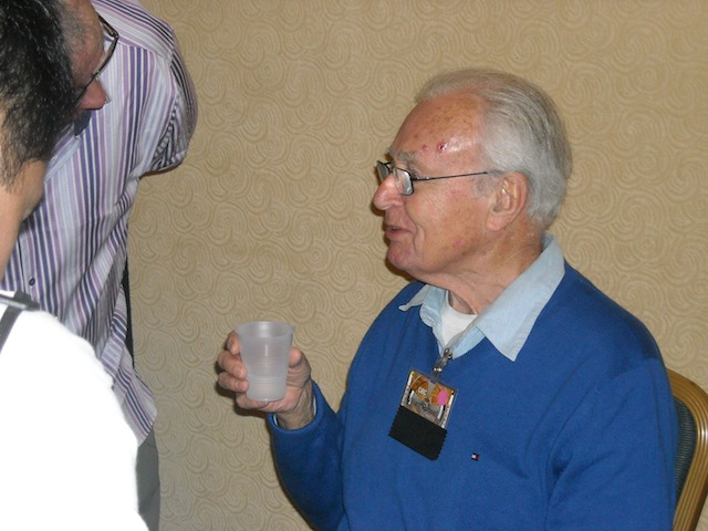 William Russell at Gallifrey One 2012