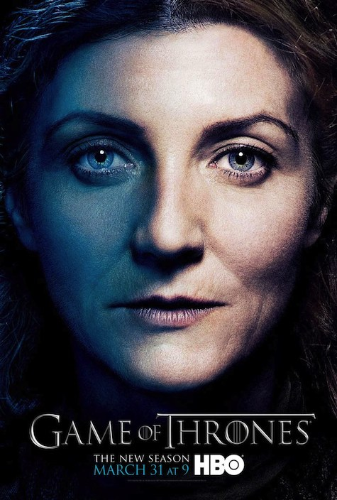 Game of Thrones season 3 character posters Catelyn