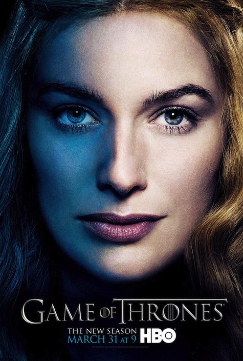Game of Thrones season 3 character posters Cersei