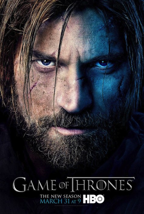 Game of Thrones season 3 character posters Jaime