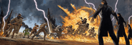 Greg Manchess, Lord of Chaos ebook cover