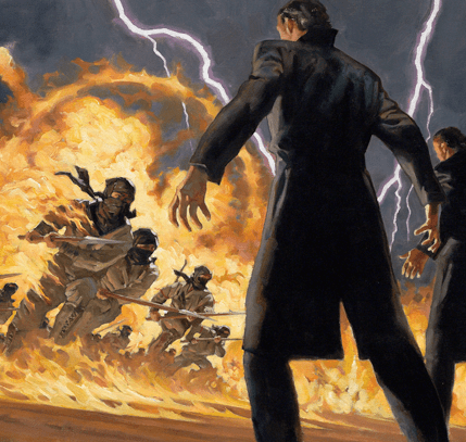 Greg Manchess's Lord of Chaos ebook cover