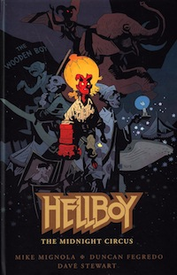 Hellboy Book Cover