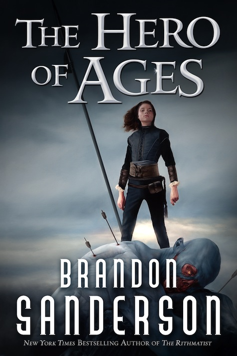 Brandon Sanderson The Hero of Ages Mistborn Cover Art