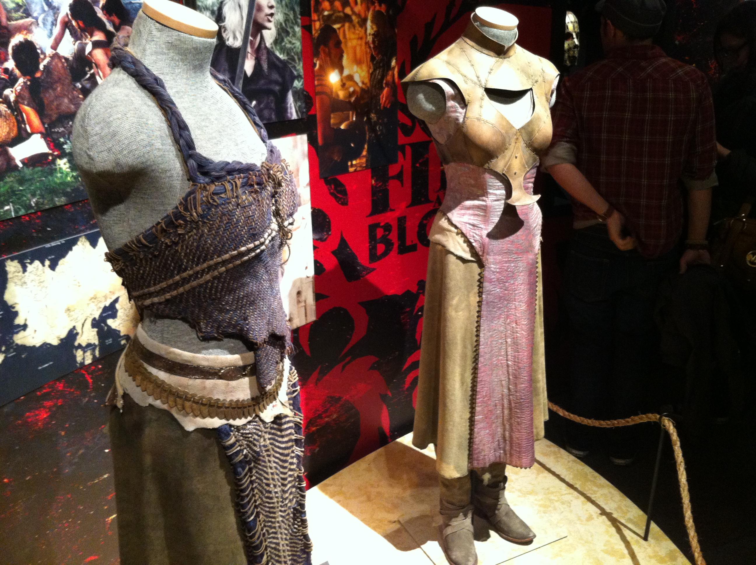 Game of Thrones exhibit NYC