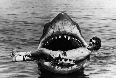 Spielberg and Jaws
