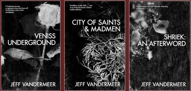Jeff VanderMeer's UK reissues