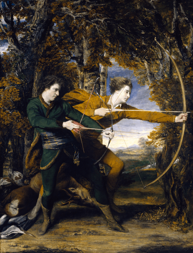 Picturing Archers: A collection of illustrated archers depicted by great artists.