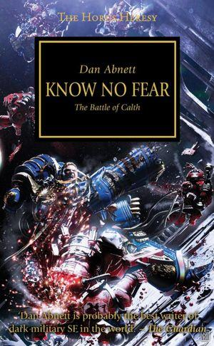 Know No Fear by Dan Abnett