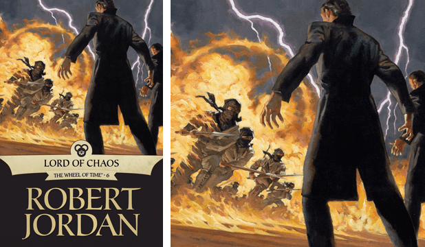 The Lord of Chaos ebook cover by Greg Manchess