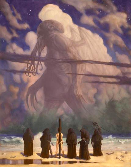 Cyril van der Haegen, Lovecraft