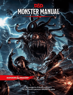 Dungeons & Dragons 5th edtion Monster Manual