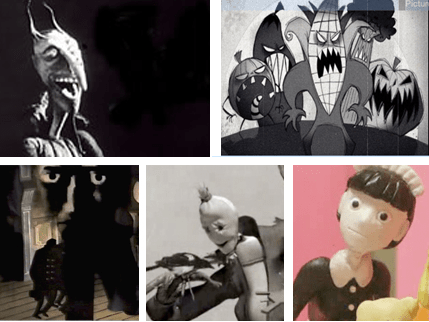 The Mascot, Attack of the Giant Vegetable Monsters, Tell Tale Heart, The End, Chainsaw Maid