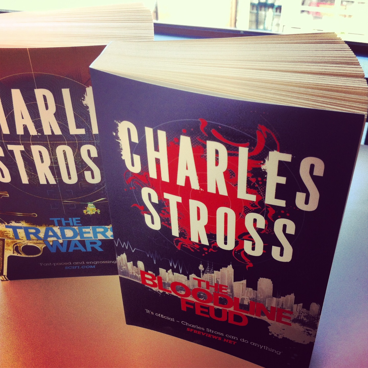 Charles Stross on the Merchant Princes Series Worldbuilding