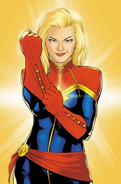 Captin Marvel Carol Danvers Kelly Sue DeConnick