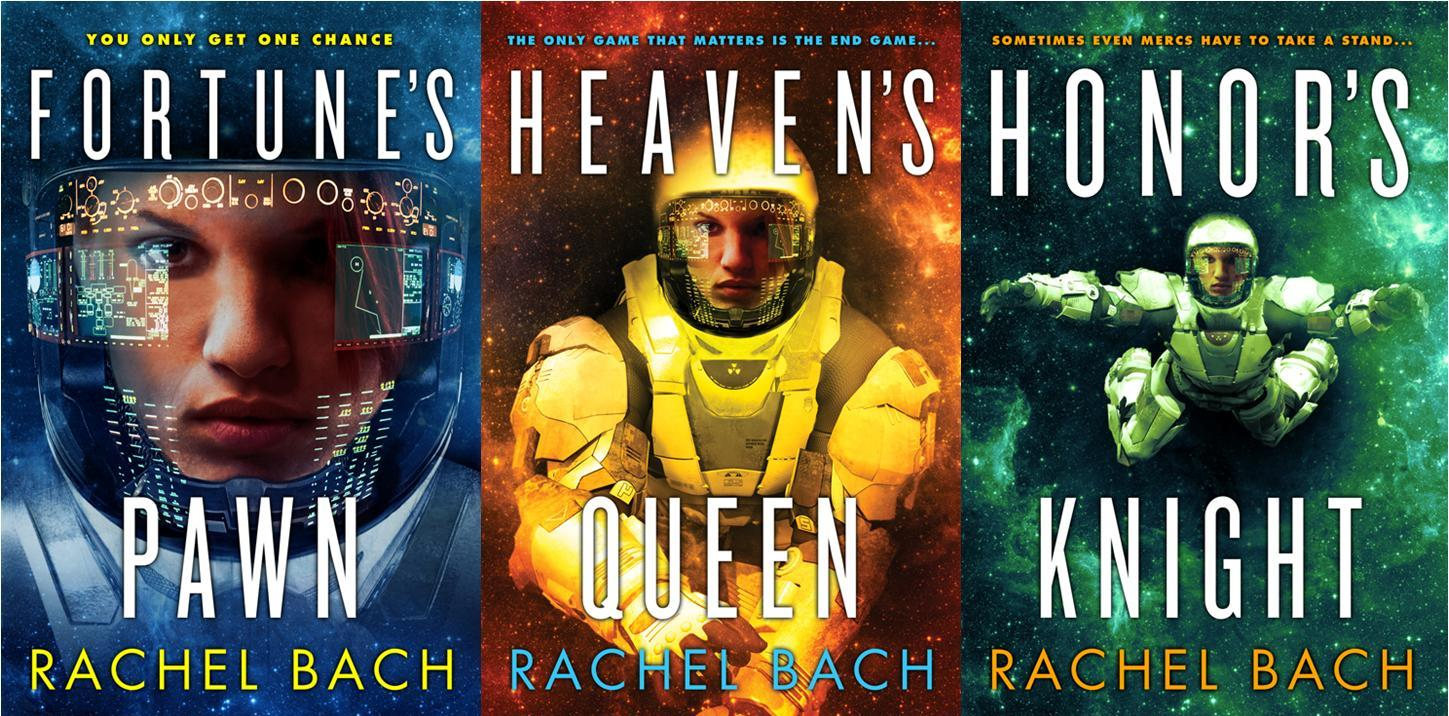 Paradox series Rachel Bach covers