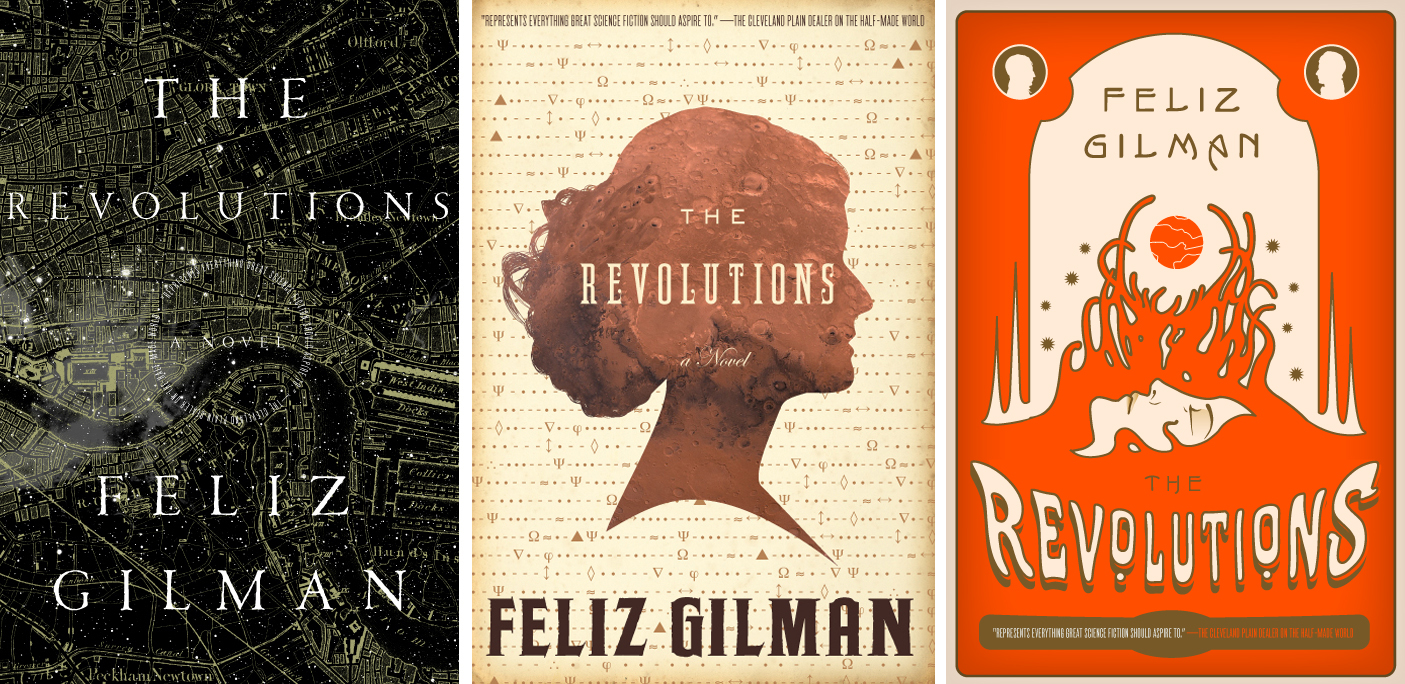 The Revolution alternate covers.