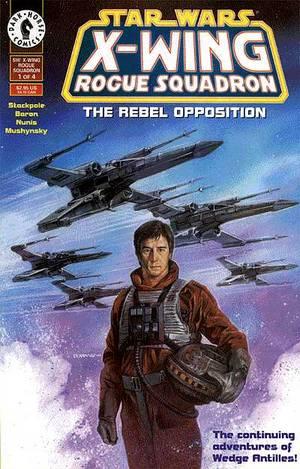 Star Wars X-Wing Rogue Squadron comics
