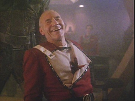 Capt. Picard Stabbed Through the Heart