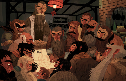 Sam Bosa, The hobbit
