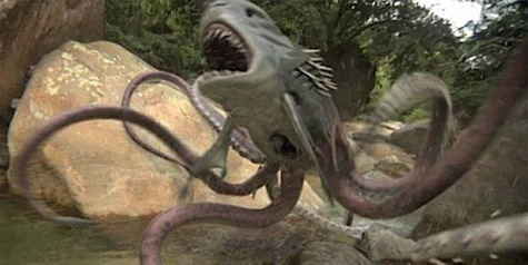 Sharktopus enraged
