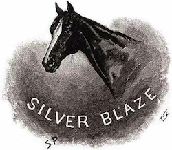 Silver Blaze portrait. (Sidney Paget Illustration)