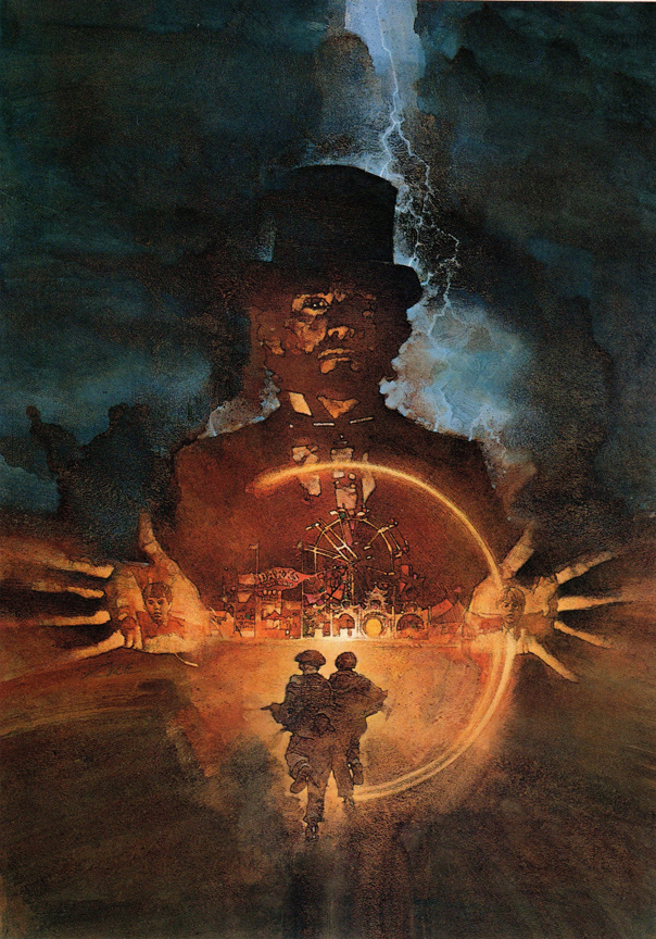 David Grove's movie poster for Something Wicked this Way Comes.