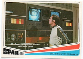 Space 1999 trading cards