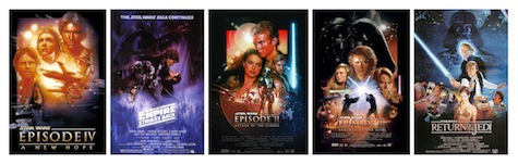 Star Wars Prequels and Original Trilogy