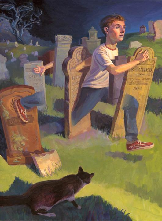 Steven Hughes, Neil Gaiman's A Graveyard Book