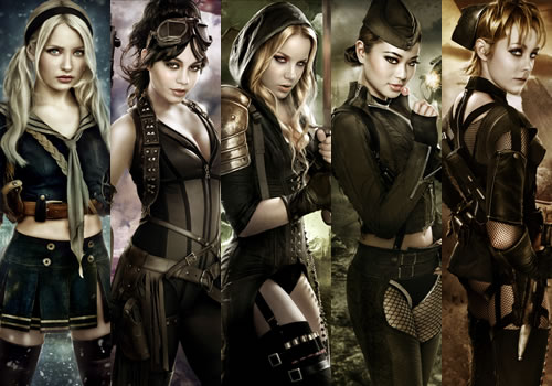 Sucker Punch steampunk outfits