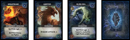 Thunderstone card game