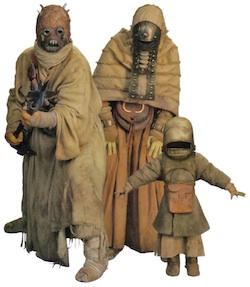 Star Wars Tusken Raider family