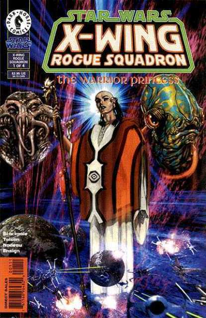 Star Wars X-Wing Rogue Squadron The Warrior Princess comics
