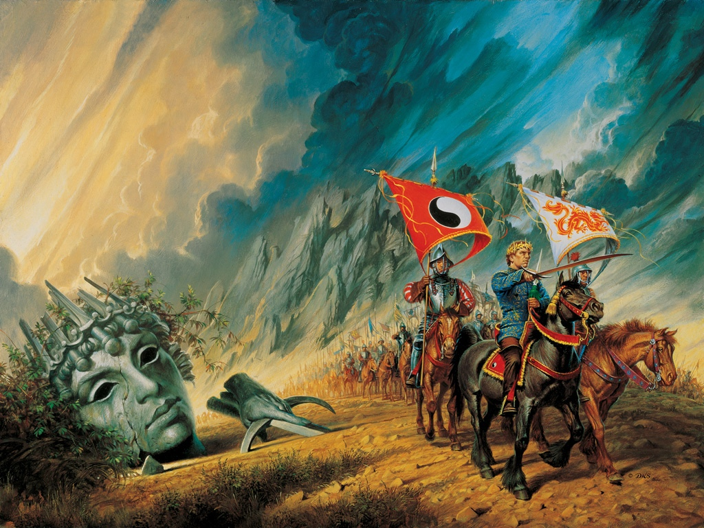 The Path of Daggers cover by Darrell K Sweet