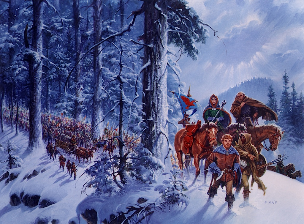 Winter's Heart cover by Darrell K Sweet